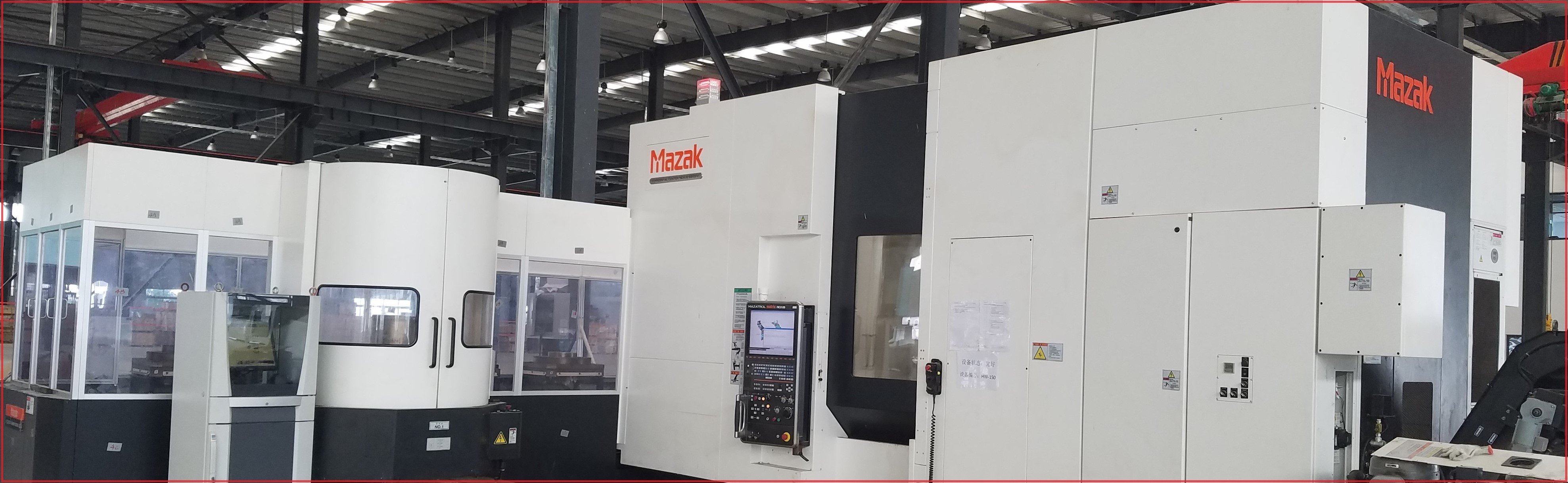 Mazak Machine Center
